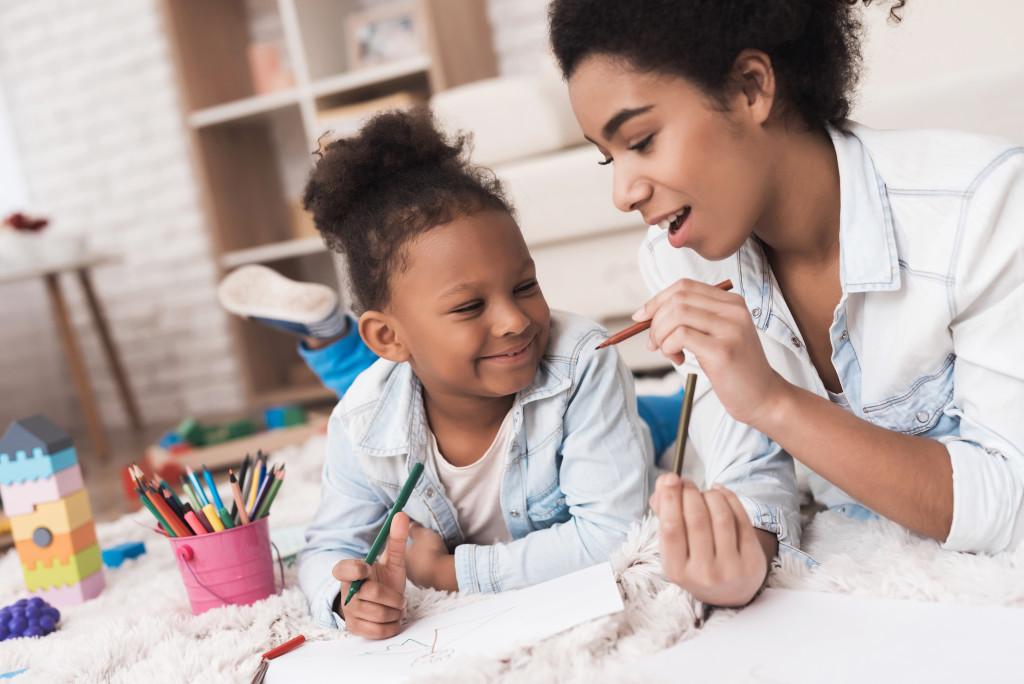 teaching a kid